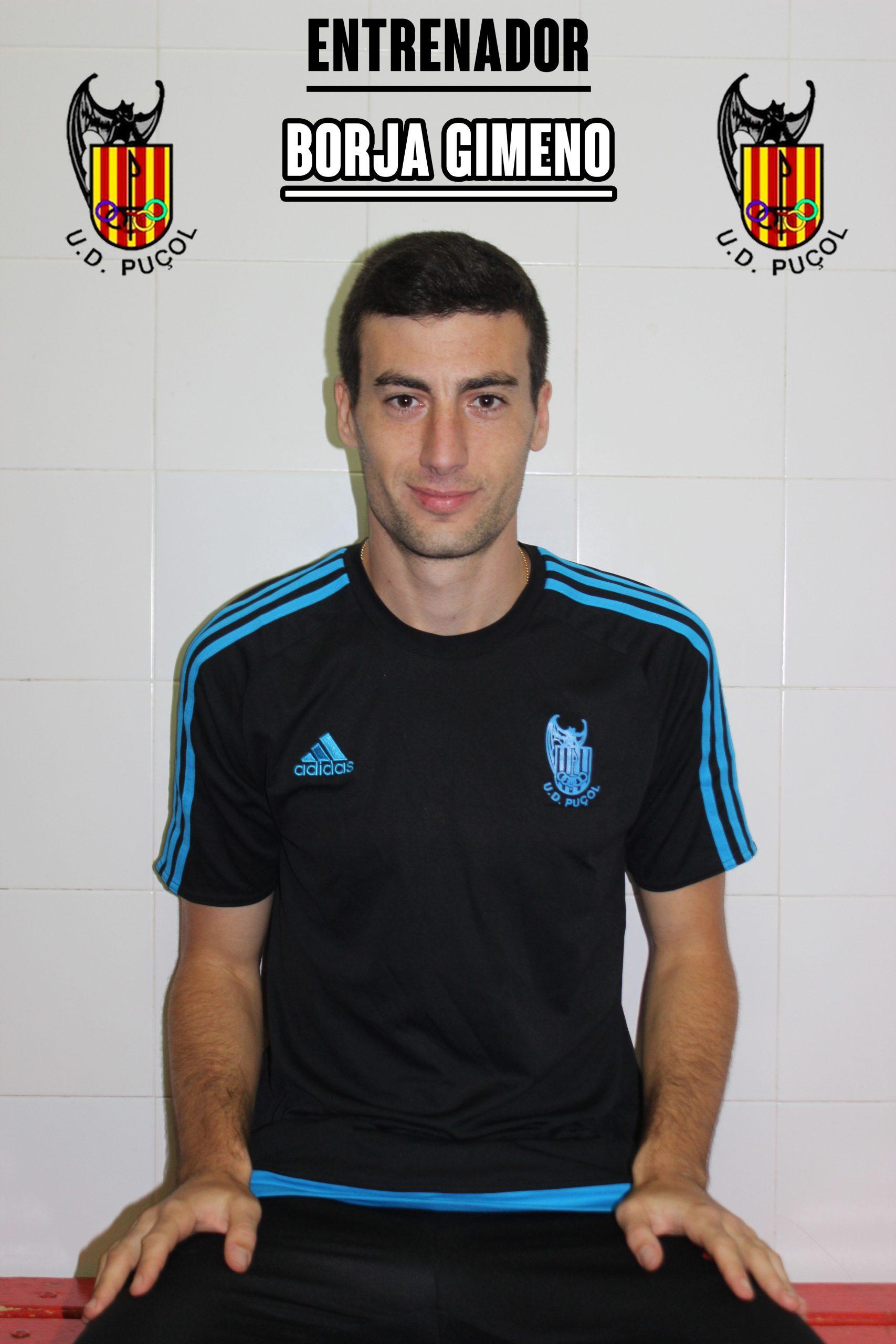 Borja Gimeno Entrenador