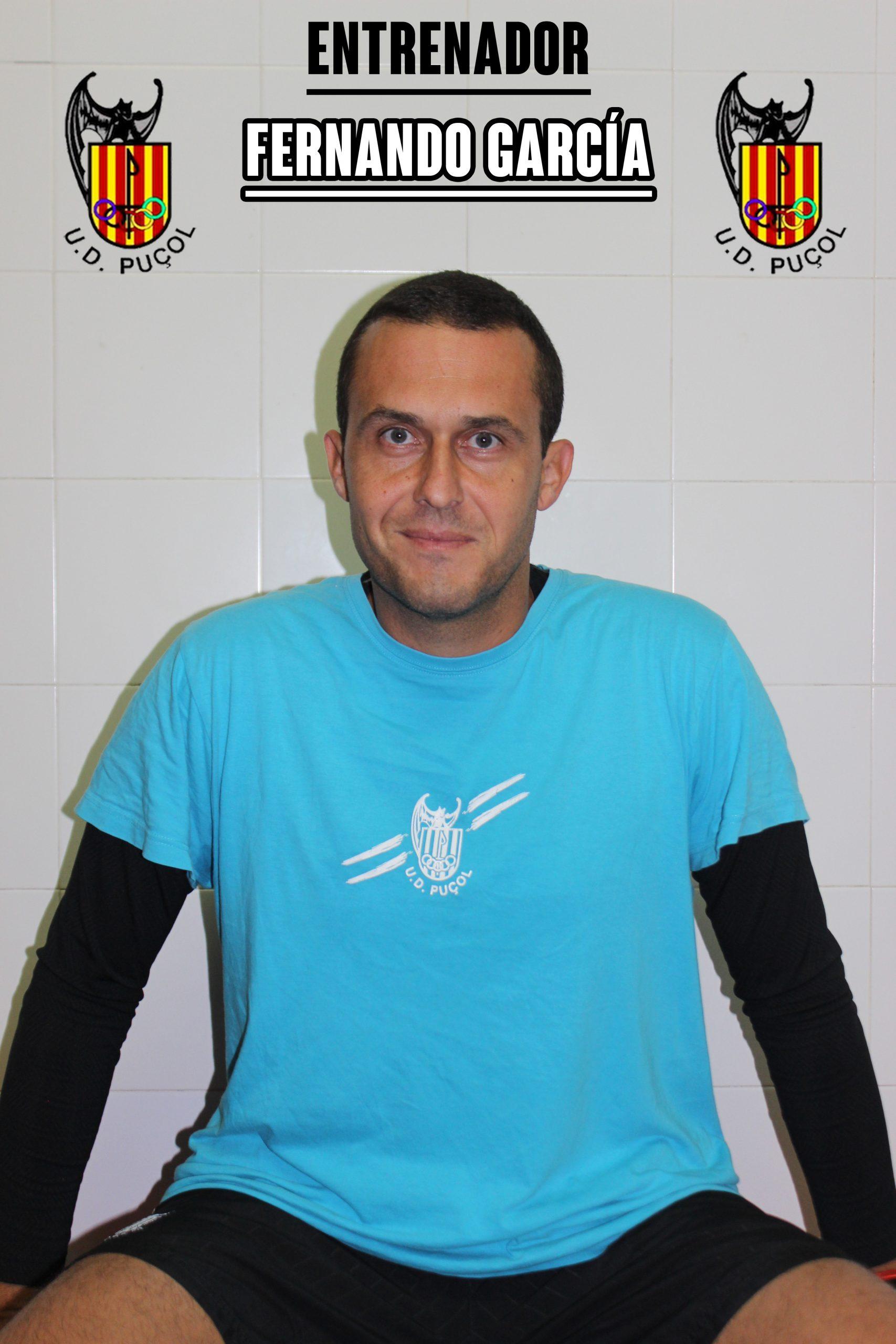 Fernando García Entrenador