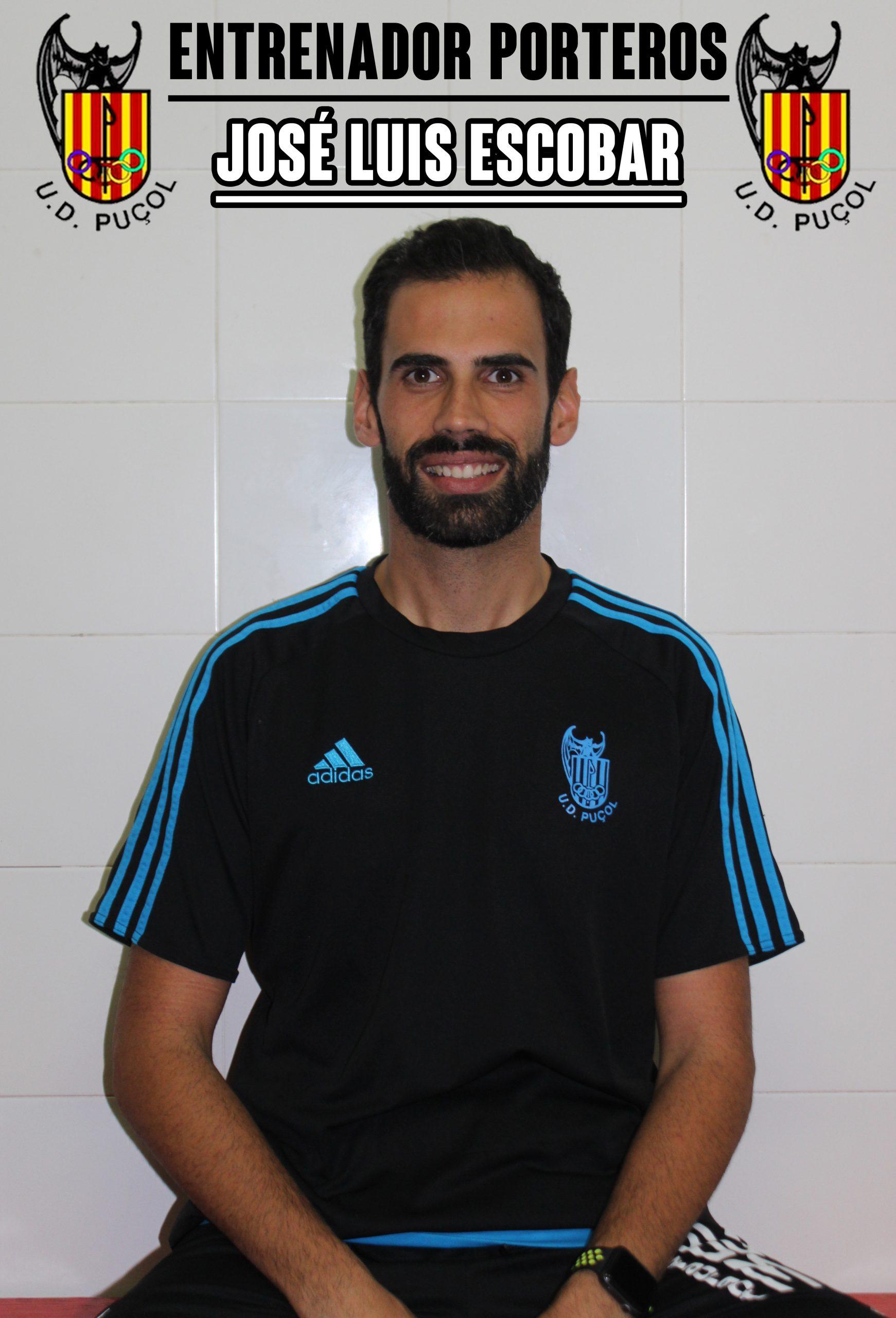 José Luis Escobar Entrenador Porteros
