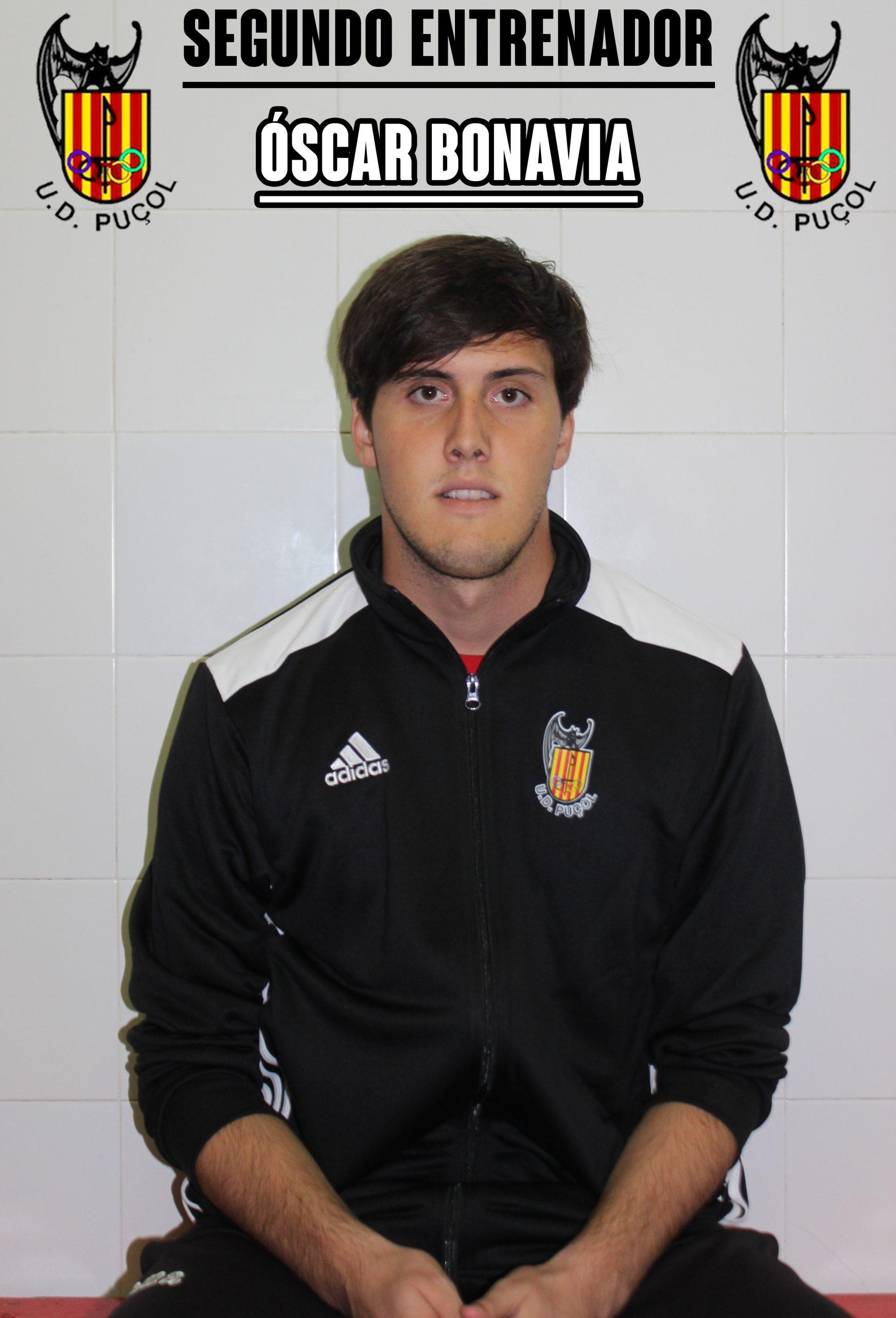 Óscar Bonavia Segundo Entrenador